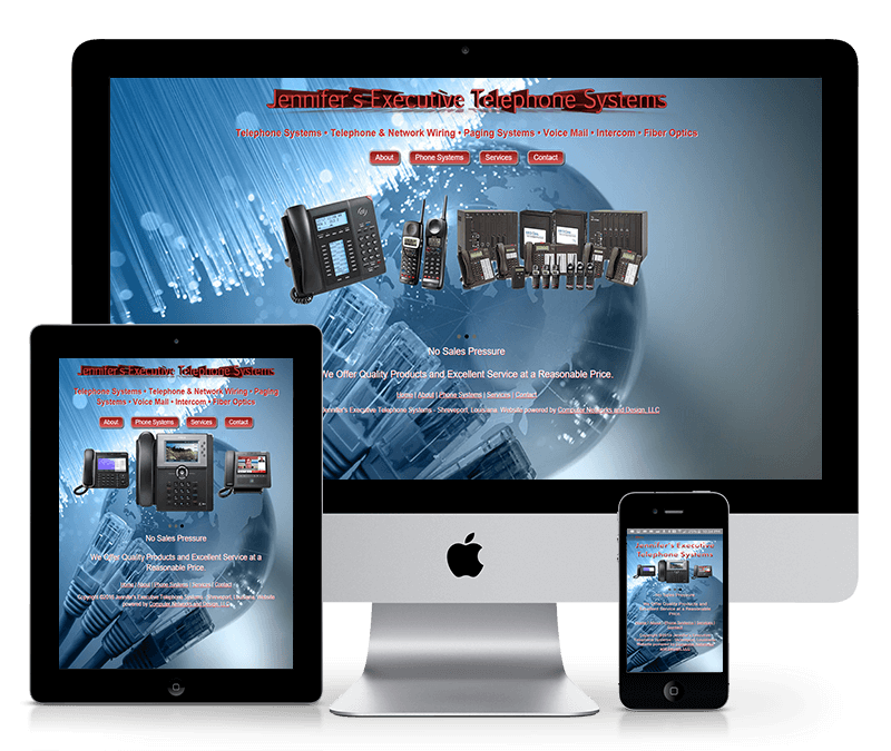 Telecommunications Company Website