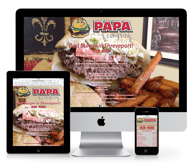 Websites for Restaurant